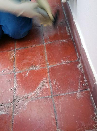 limpieza de obra en casa