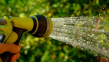 mantenimiento de jardin en madrid riego