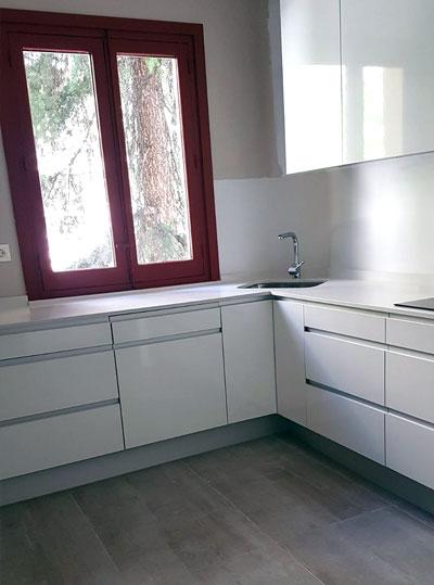 Limpieza de obra en cocinas