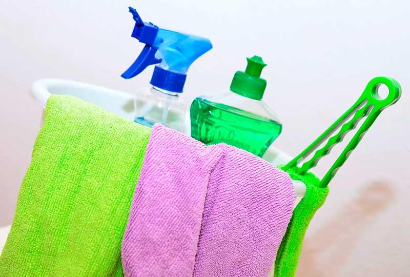 Empresas de limpieza en Parla y productos
