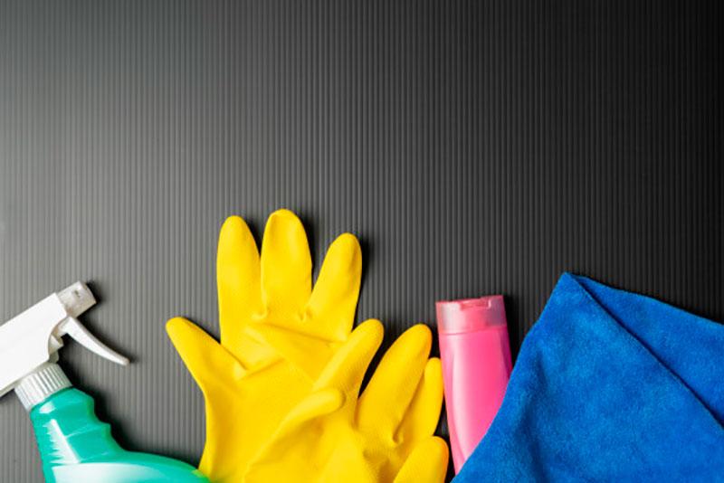 limpieza de un almacén