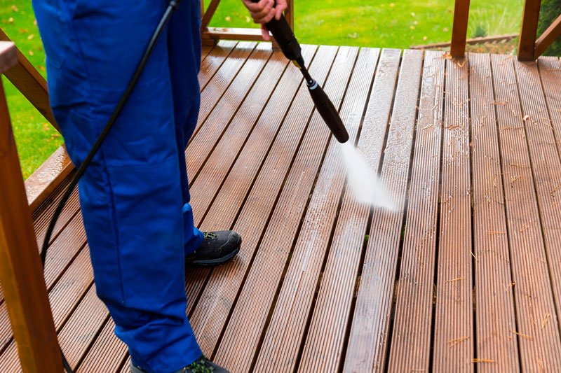 cómo limpiar una terraza
